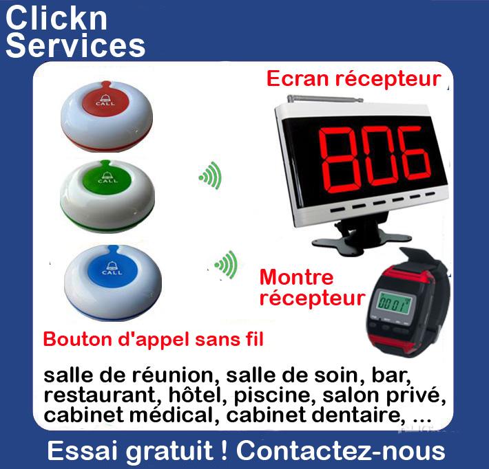 Bouton d 39 appel sans fil cabinet m dical dentaire clinique - Affichage obligatoire cabinet dentaire ...